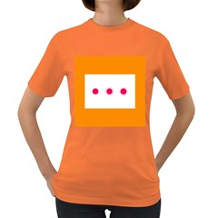Patterns Types Drag Swipe Fling Activities Gestures Women s Dark T Shirt