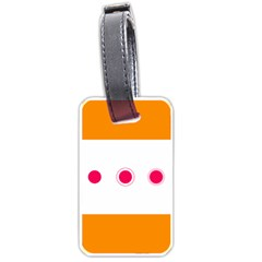 Patterns Types Drag Swipe Fling Activities Gestures Luggage Tags (two Sides)