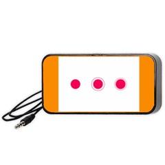 Patterns Types Drag Swipe Fling Activities Gestures Portable Speaker (black)