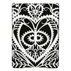 Paper Cut Butterflies Black White Ipad Air Hardshell Cases