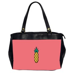 Pineapple Fruite Minimal Wallpaper Office Handbags (2 Sides)