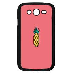 Pineapple Fruite Minimal Wallpaper Samsung Galaxy Grand Duos I9082 Case (black)