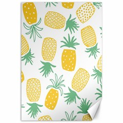 Pineapple Fruite Seamless Pattern Canvas 12  X 18