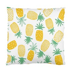 Pineapple Fruite Seamless Pattern Standard Cushion Case (two Sides)