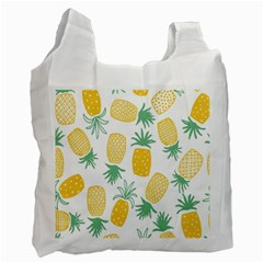 Pineapple Fruite Seamless Pattern Recycle Bag (one Side)