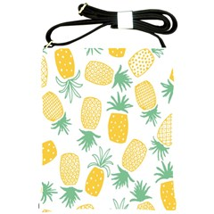 Pineapple Fruite Seamless Pattern Shoulder Sling Bags