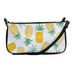 Pineapple Fruite Seamless Pattern Shoulder Clutch Bags