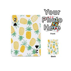Pineapple Fruite Seamless Pattern Playing Cards 54 (mini)
