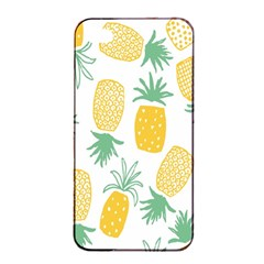 Pineapple Fruite Seamless Pattern Apple Iphone 4/4s Seamless Case (black)