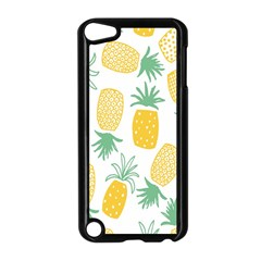 Pineapple Fruite Seamless Pattern Apple Ipod Touch 5 Case (black)