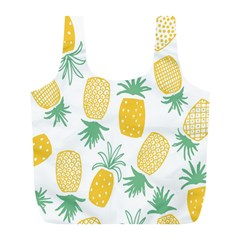 Pineapple Fruite Seamless Pattern Full Print Recycle Bags (l)