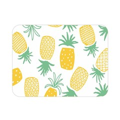 Pineapple Fruite Seamless Pattern Double Sided Flano Blanket (mini)