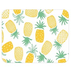 Pineapple Fruite Seamless Pattern Double Sided Flano Blanket (medium)