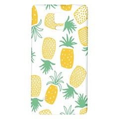 Pineapple Fruite Seamless Pattern Galaxy Note 4 Back Case