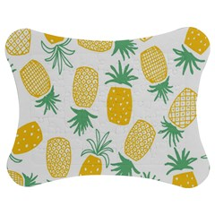 Pineapple Fruite Seamless Pattern Jigsaw Puzzle Photo Stand (bow)