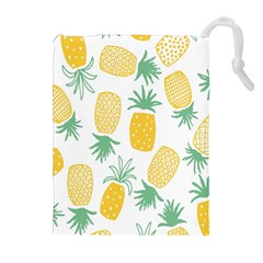 Pineapple Fruite Seamless Pattern Drawstring Pouches (extra Large)