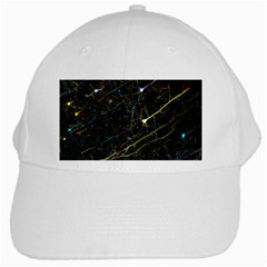 Neurons Light Neon Net White Cap