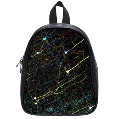 Neurons Light Neon Net School Bag (small)