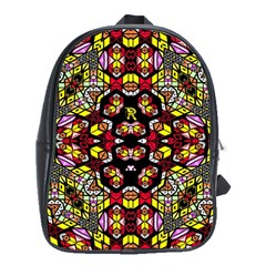 Queen Design 456 School Bag (large)