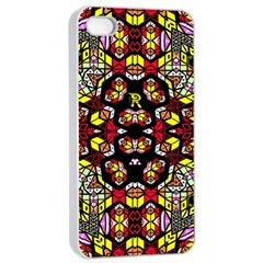 Queen Design 456 Apple Iphone 4/4s Seamless Case (white)