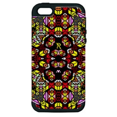Queen Design 456 Apple Iphone 5 Hardshell Case (pc+silicone)