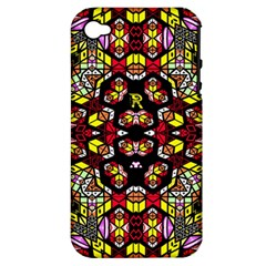 Queen Design 456 Apple Iphone 4/4s Hardshell Case (pc+silicone)