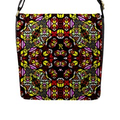 Queen Design 456 Flap Messenger Bag (l)