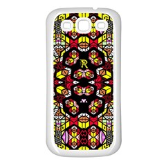 Queen Design 456 Samsung Galaxy S3 Back Case (white)