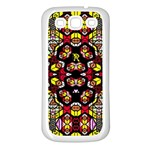 Queen Design 456 Samsung Galaxy S3 Back Case (White) Front