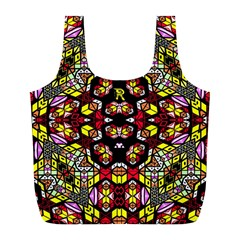Queen Design 456 Full Print Recycle Bags (l)