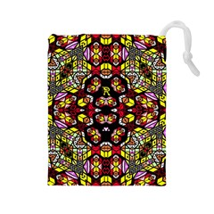 Queen Design 456 Drawstring Pouches (large)