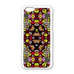 Queen Design 456 Apple Iphone 6/6s White Enamel Case