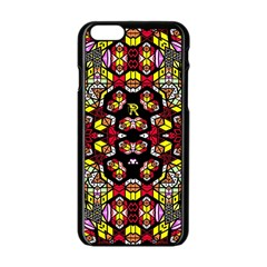 Queen Design 456 Apple Iphone 6/6s Black Enamel Case