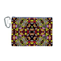 Queen Design 456 Canvas Cosmetic Bag (m)