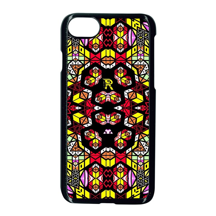 Queen Design 456 Apple iPhone 7 Seamless Case (Black)