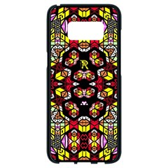 Queen Design 456 Samsung Galaxy S8 Black Seamless Case