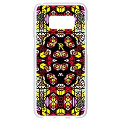 Queen Design 456 Samsung Galaxy S8 White Seamless Case