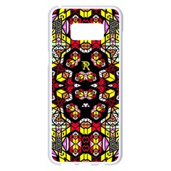 Queen Design 456 Samsung Galaxy S8 Plus White Seamless Case