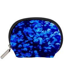 Blue Jellyfish Accessory Pouches (small)