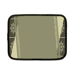Moss Green Abstract Netbook Case (small)