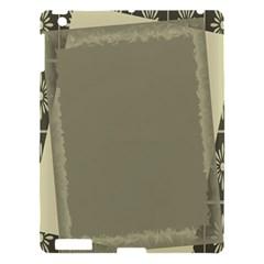Moss Green Abstract Apple Ipad 3/4 Hardshell Case