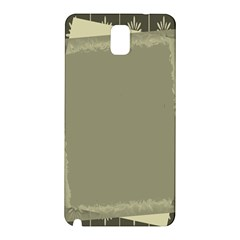Moss Green Abstract Samsung Galaxy Note 3 N9005 Hardshell Back Case