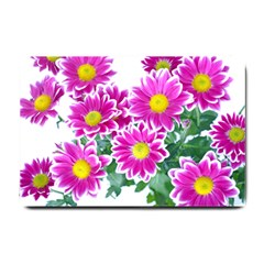 Pink White Flowers Small Doormat