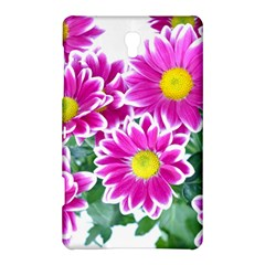 Pink White Flowers Samsung Galaxy Tab S (8 4 ) Hardshell Case
