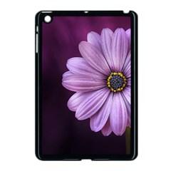 Purple Flower Apple Ipad Mini Case (black)
