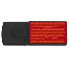 Mrtacpans Writing Grace Rectangular Usb Flash Drive