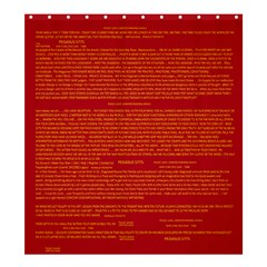 Mrtacpans Writing Grace Shower Curtain 66  X 72  (large)