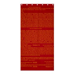 Mrtacpans Writing Grace Shower Curtain 36  X 72  (stall)