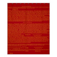 Mrtacpans Writing Grace Shower Curtain 60  X 72  (medium)