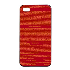 Mrtacpans Writing Grace Apple Iphone 4/4s Seamless Case (black)
